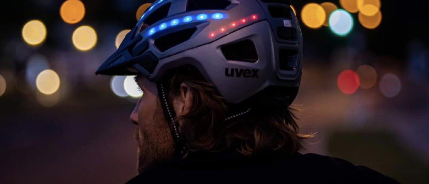 Fahrradhelme mit Licht