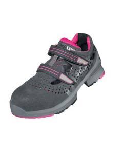 uvex 1 ladies Sicherheitsschuh S1 Damen Sandale Weite 11