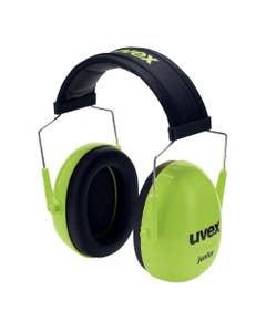 uvex K Junior Kapselgehörschutz lime SNR 27 dB