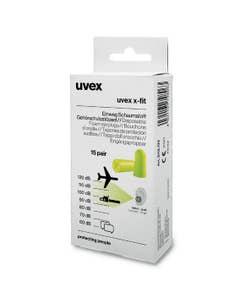 uvex x-fit Gehörschutzstöpsel SNR 37 dB 15 Paar in Retail-Minibox