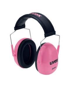 uvex K Junior Kapselgehörschutz pink SNR 27 dB